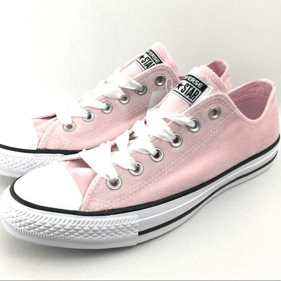 f26e54b926e Converse Chuck Taylor All Star Velvet Sneakers New